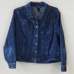 Lane Bryant Denim Jacket Size 22